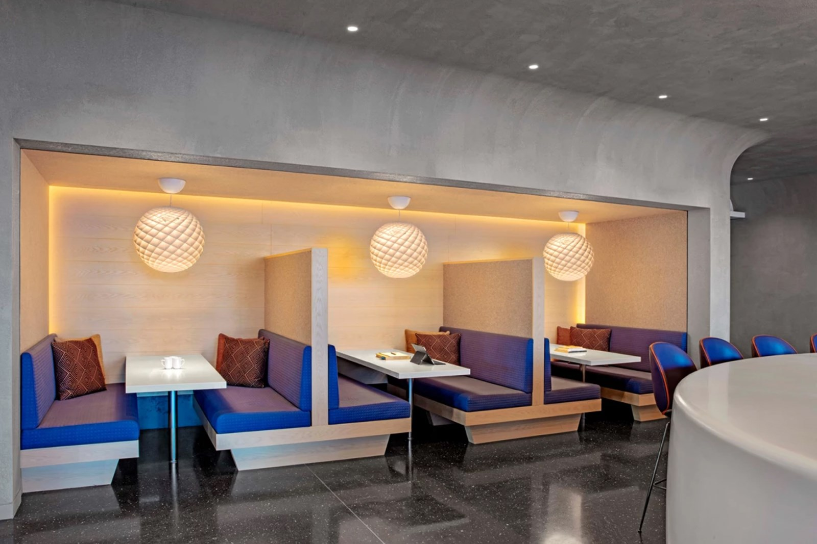 Patera pendants in BSF Law Offices in New York