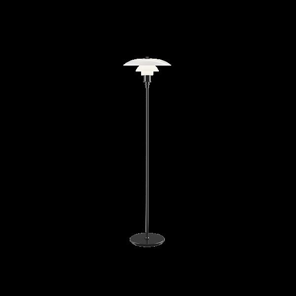 Poul Henningsen PH 3½-2½ Golv Svart metalliserad